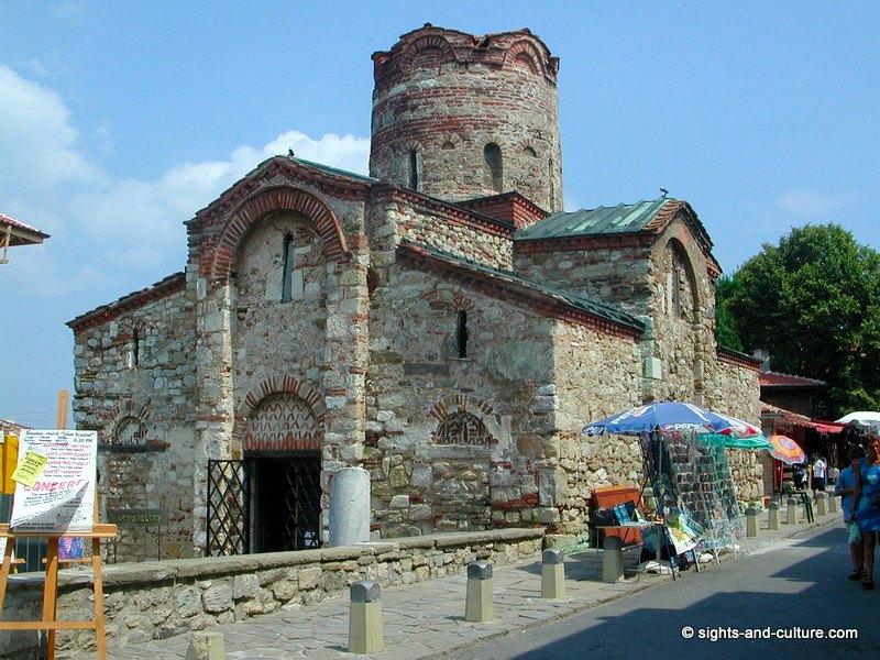 جمهورية بلغاريا Nessebur-Baptiste-ch