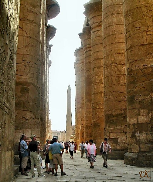 Temple of Karnak hypostyle hall