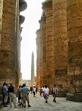 temple of Karnak hypostyle hall, colonnade