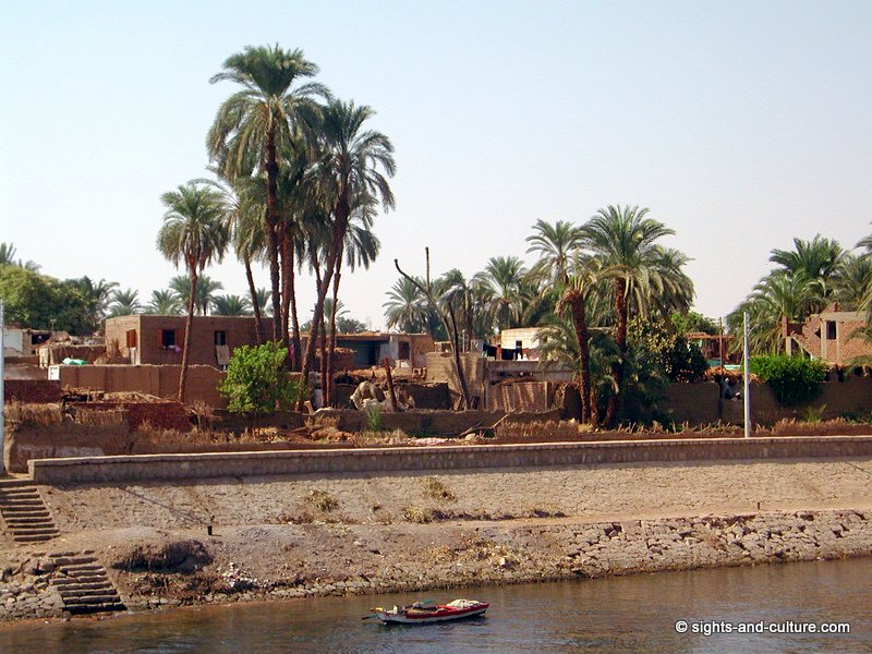 settlement at the Nile