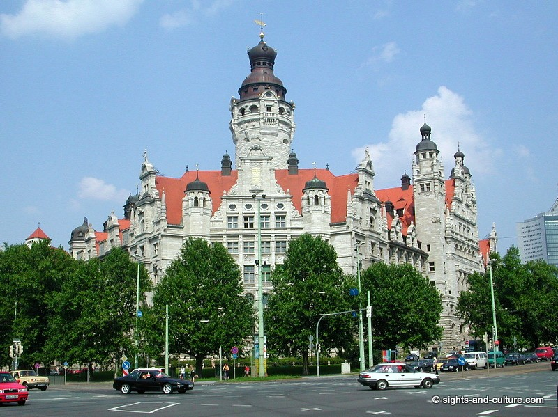 Leipzig Germany  city photo : Many valuable historic monuments of the renaissance and baroque period ...