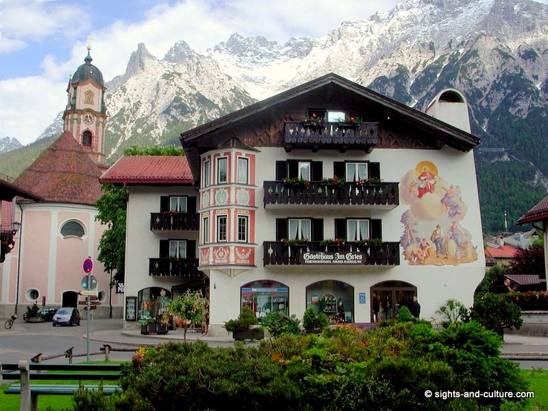 bavaria sights and interesting facts mittenwald