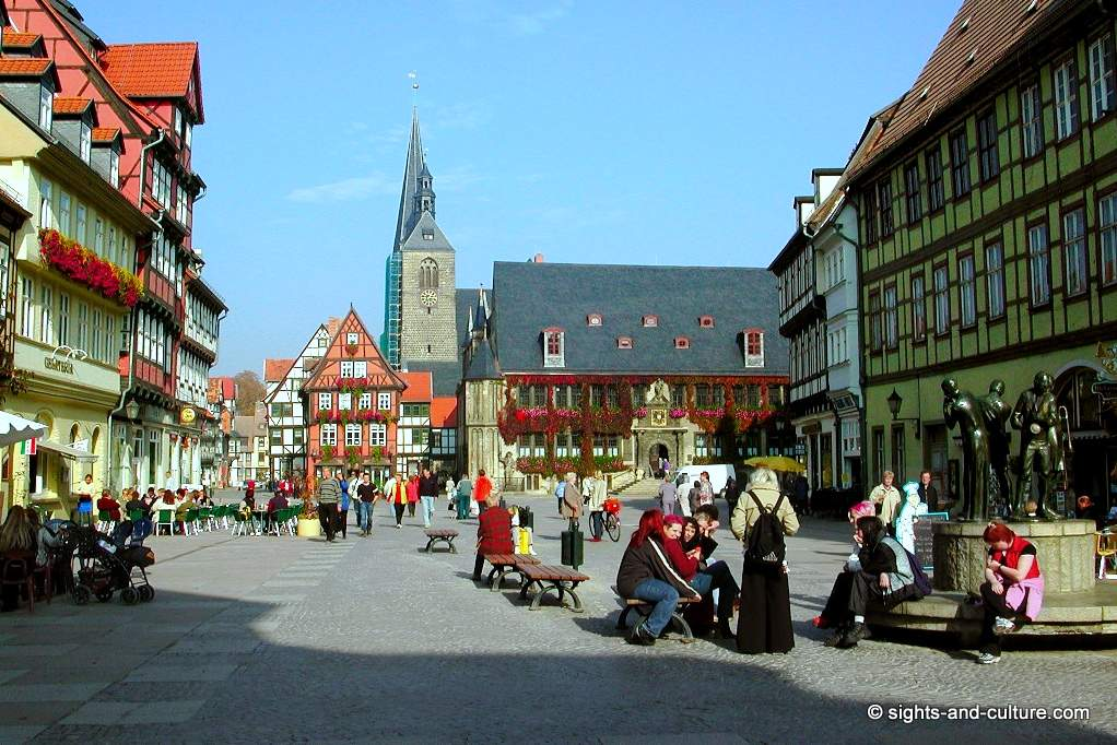 Harz Mountains And The City Of Quedlinburg World