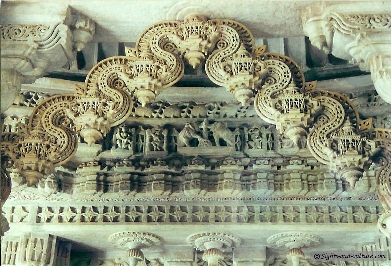 India The Jain Temple Adinatha At Ranakpur