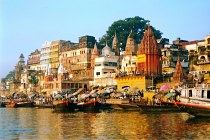 Varanasi - at the banks of the Ganges