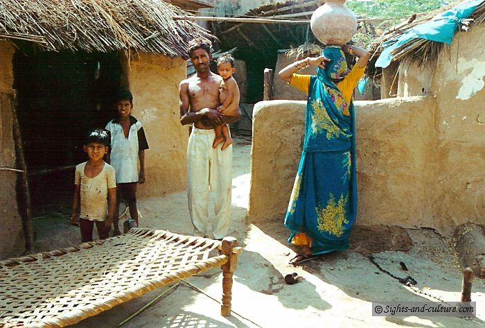 indian villagers