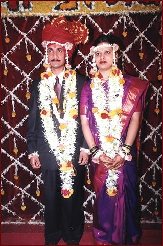 Indian marriage bride and the groom