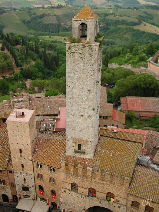 San Gimignano aerial view (3)