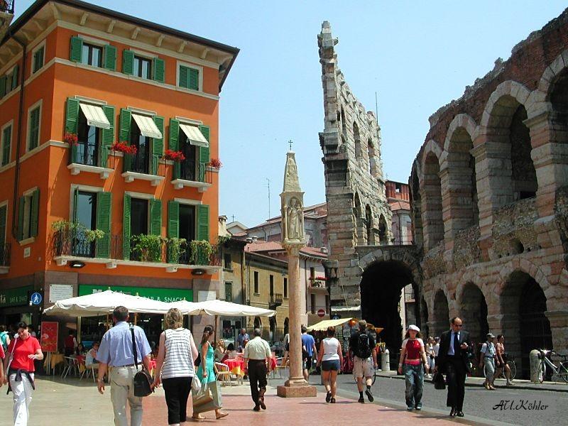 Verona Sehenswurdigkeiten Im Historischen Zentrum