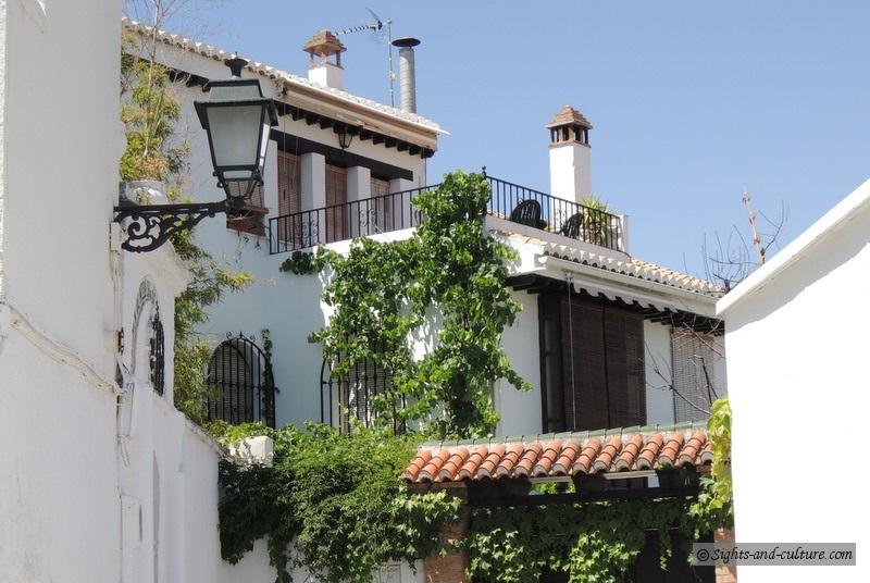 Granada - view of the Albaicin (1)