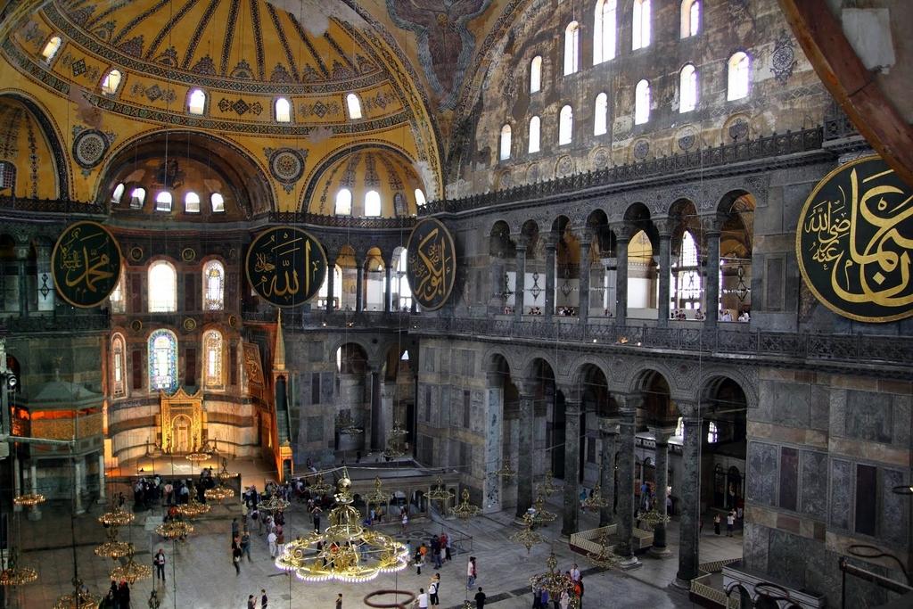 Istanbul Hagia Sophia, the Magnificent Basilica at the ...