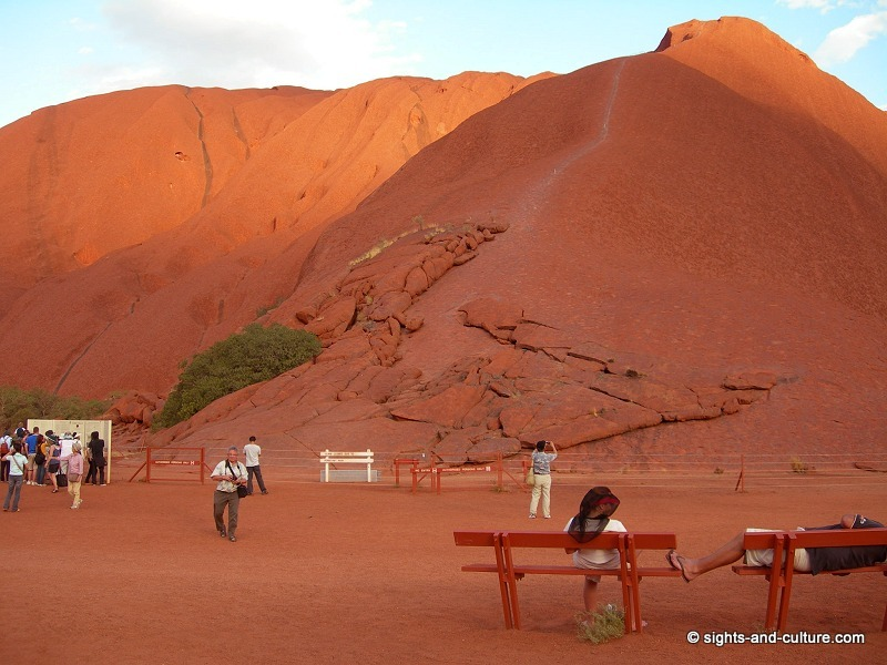 View of the Uluru