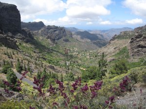 Gran Canaria - mountain view at Roque Nublo