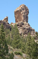 Roque Nublo - the landmark of Gran Canaria